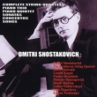 Chamber Works, Piano Sonatas, Songs, Concertos : Beethoven Quartet, Shostakovich, Oistrakh etc (16CD)