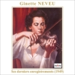 Beethoven Violin Concerto, Brahms Violin Sonata No.3 : Neveu(Vn)Rosbaud / SWR Symphony Orchestra, J.Neveu(P)(1949)