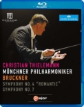 Symphonies Nos.4, 7 : Thielemann / Munich Philharmonic