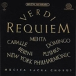 Requiem : Mehta / New York Philharmonic, Caballe, Berini, Domingo, Plishka (2CD)