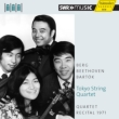 Beethoven String Quartet No.10, Bartok String Quartet No.1, Berg String Quartet : Tokyo Quartet (Schwetzingen 1971)