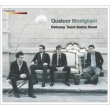 Debussy String Quartet, Ravel String Quartet, Saint-Saens String Quartet No.1 : Modigliani Quartet (2CD)