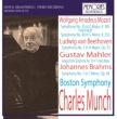 Munch / Bso: Mozart: Sym, 35, Beethoven: Sym, 7, Mahler: Sym, 10, (Adagio), Brahms: Sym1,