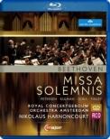 Missa Solemnis : Harnoncourt / Concertgebouw Orchestra, M.Petersen, Kulman, Gura, Finley