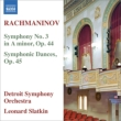 Symphony No.3, Symphonic Dances : L.Slatkin / Detroit Symphony Orchestra