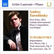 Andrey Yaroshinsky 1st Prize 2011 Gabala International Competition : Tchaikovsky Piano Works