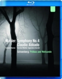 Mahler Symphony No.4, Schoenberg Pelleas und Melisande : Abbado / Gustav Mahler Jugendorchester, Banse(S)