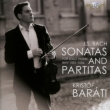 Sonatas & Partitas for Solo Violin : Barati (2CD)