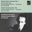 Chopin Piano Concerto No.1 : Pollini(P)Kletzki / French National Radio Orchestra (1960 Paris)+Haydn Symphony No.102 (1952)