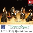 Lotus Sq: Travelogue-quartet ���Ȑ��E�I�s Ravel, Barber, Wolf, Puccini, Etc