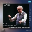 Symphonies Nos.5, 6 : G.Wand / NHK Symphony Orchestra (1982)(Single Layer)