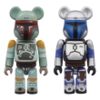 Be@rbrick Star Wars 2 Pack Jango Fett & Boba Fett