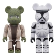 Be@rbrick Star Wars 2 Pack Yoda(Ep2)& Clone Trooper(Ep2)