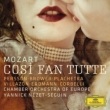 Cosi Fan Tutte : Nezet-Seguin / Chamber Orchestra of Europe, Persson, Brower, Plachetka, Villazzon, Erdmann, etc (2012 Stereo)(3CD)