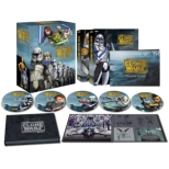 Star Wars: The Clone Wars The Complete Seasons 1-5 Collector's Edition [2,000 Set Limited]