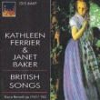 Ferrier & J.Baker British Songs