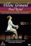 Grimaud: Piano Recital At The Kammermusiksaal Of The Berliner Philharmonie