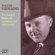 Walter Gieseking Complete Homocord Recordings & Other Rarities (2CD)