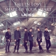 Fall in Love / Shape of your heart (CD+DVD)[Jacket A/First Press Limited Edition / Lawson HMV Original Novelty]