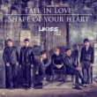 Fall in Love / Shape of your heart [Jacket B/First Press Limited Edition / Lawson HMV Original Novelty]