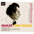 Symphonies Nos.1, 2, 3 : Maazel / Philharmonia, S.Matthews, De Young, Connolly (5CD)