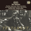 War Requiem : M.Davies / City of Birmingham SO, Britten / Melos Ensemble, Pears, Harper, F-Dieskau (1962 Monaural)
