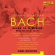 Mass in B Minor, Cantata No.147 : K.Richter / Muncih Bach Oorchestra & Choir, Stader, Topper, Haefliger, F-Dieskau, etc (1961)(2CD)