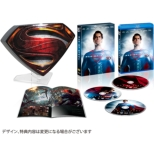 Man of Steel �gS�h Shield Premium BOX +3D (3 Discs)[5,000 BOX Limited]