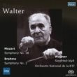 Brahms Symphony No.2, Mozart Symphony No.38, Wagner Siegfried Idyll : Walter / French National Radio Orchestra (1955)(Single Layer)