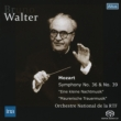 Symphonies Nos.36, 39, Serenade No.13, Masonic Funeral Music : Walter / French National Radio Orchestra (1956)(Single Layer)