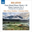 (2 Piano)Piano Concerto No.2 : Matthies Kohn (4 Hands Piano Works Vol.18)