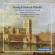 Organ Concertos Op.4/1-6 : Kirschnereit(P)Larsen / Kammerakademie Neuss (2LP)