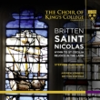 St.Nicolas, etc : Cleobury / Britten Sinfonia, Cambridge King' s College Choir, etc (+CD)