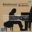 Piano Concerto, 5, : Michelangeli(P)Celibidache / French National Radio O +brahms: Tragic Overture