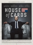 House Of Cards Season 1 Dvd Complete Package