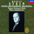 Wagner Orchestral Music, Weber Symphony No.1 : Stein / Vienna Philharmonic