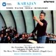 Overtures -Weber, Wagner, Nicolai, Mendelssohn : Karajan / Berlin Philharmonic (1960)(Hybrid)