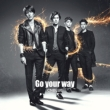 Go your way [First Press Limited Edition A](CD+DVD)
