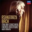 (Paino)french Overture, Italian Concerto, Etc: Ashkenazy(P)