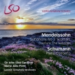 Mendelssohn Symphony No.3, Hebridies, Schumann Piano Concerto : Gardiner / LSO, Pires(P)(Hybrid)(+Blu-ray Audio)