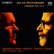 Symphonies Nos.4, 16 : C.Lindberg / Norrkoping Symphony Orchestra, J.Pettersson(Sax)(Hybrid)(+DVD)