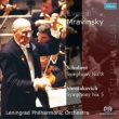 Shostakovich Symphony No.5, Schubert Symphony No.8 : Mravinsky / Leningrad Philharmonic (1978 Vienna)(Single Layer)