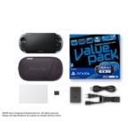 Playstation?vita Value Pack Wi-fi���f�� �u���[ / �u���b�N