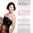 Violin Concerto, 2, : Ju-young Baek(Vn)G.nowak / Rpo +szymanowski: Concerto, 1,