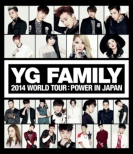 YG FAMILY WORLD TOUR 2014 -POWER-in Japan (2Blu-ray)