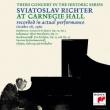 Sviatoslav Richter: Carnegie Recital 1960 -Beethoven, Schumann, Rachmaninov, etc (1960)(2CD)
