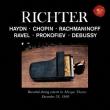 Sviatoslav Richter Newark Mosque Theater Recital -Haydn, Chopin, Rachmaninov, Ravel, Prokofiev, etc (1960 Stereo)(2CD)