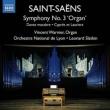 Symphony No.3, Danse Macabre(arr.Organ Solo), Cypres et Lauriers : Slatkin / Lyon National Orchestra, Warnier(Org)