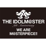 The Idolm@ster 9th Anniversary We Are M@sterpiece!! Blu-Ray `perfect Box!`
