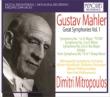 Symphonies Nos.1, 3, 8, 10(Adagio): Mitropoulos / Mineapolis SO, Cologne RSO, Vienna Philharmonic, New York Philharmonic (4CD)